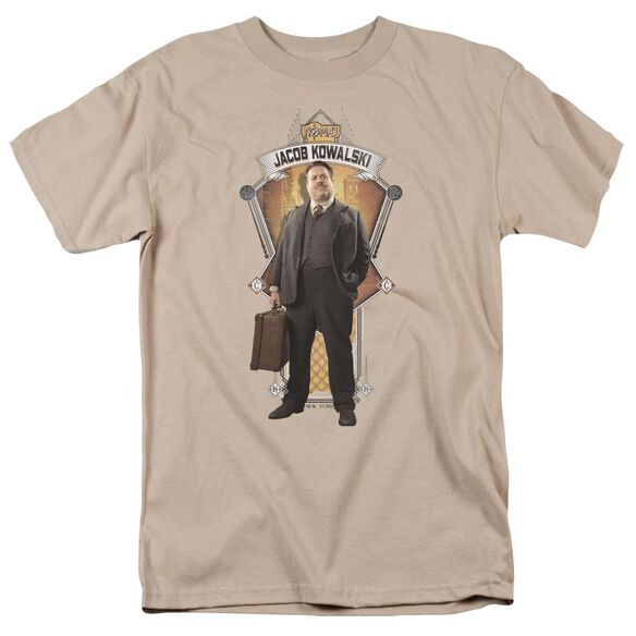 Fantastic Beasts Jacob Kowalski Short Sleeve Adult T-Shirt