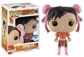 FUNKO POP! Exclusive Street Fighter Chun-Li Paint Variant