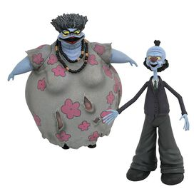 Nightmare Before Christmas Select Series 10 Corpse Mom and Corpse Dad Action Figure 2-Pack