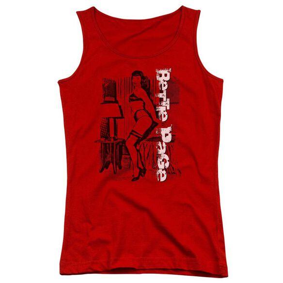 Bettie Page Shake It Juniors Tank Top