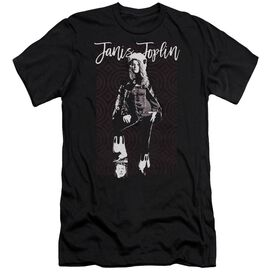 Janis Joplin Minimal J Hbo Short Sleeve Adult T-Shirt