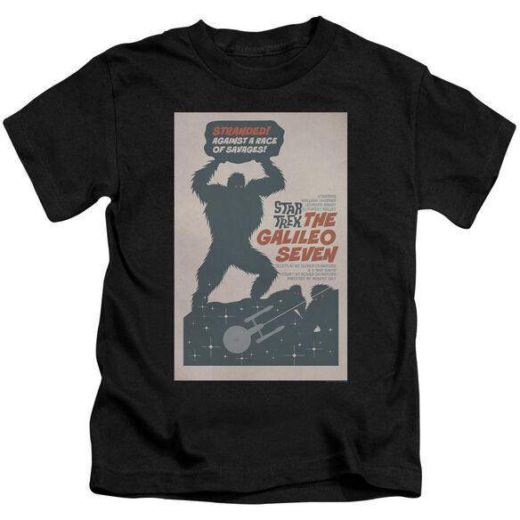 Star Trek Tos Episode 16 Short Sleeve Juvenile Black Md T-Shirt