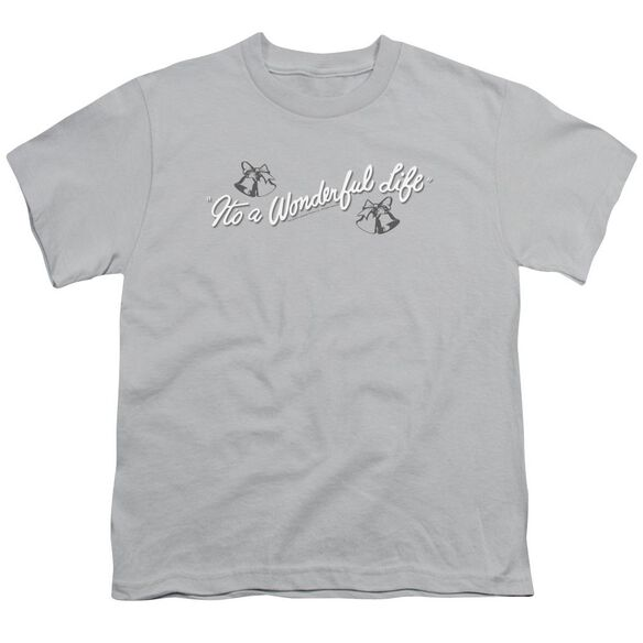 It's A Wonderful Life Logo Short Sleeve Youth T-Shirt