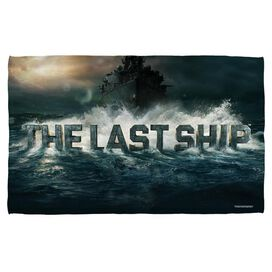 Last Ship Out To Sea Towel