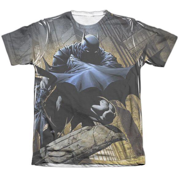 Batman In Shadow Adult Poly Cotton Short Sleeve Tee T-Shirt