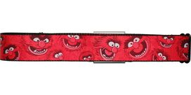 Muppets Animal Faces Seatbelt Belt