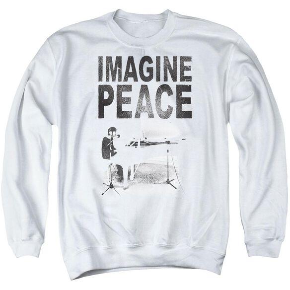 John Lennon Imagine Adult Crewneck Sweatshirt