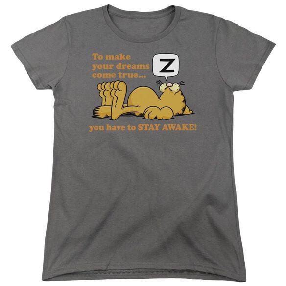GARFIELD STAY AWAKE-S/S T-Shirt
