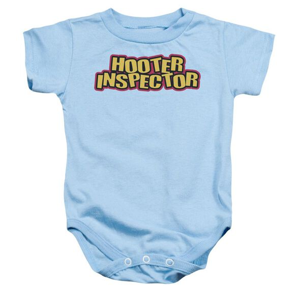 Hooter Inspector Infant Snapsuit Light Blue Md
