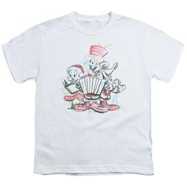 Looney Tunes Holiday Sketch Short Sleeve Youth T-Shirt