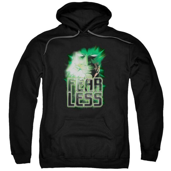 Green Lantern Fearless Adult Pull Over Hoodie