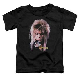 Labyrinth Goblin King Short Sleeve Toddler Tee Black T-Shirt