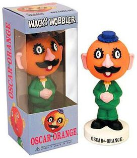 Funko Wacky Wobbler: Oscar the Orange