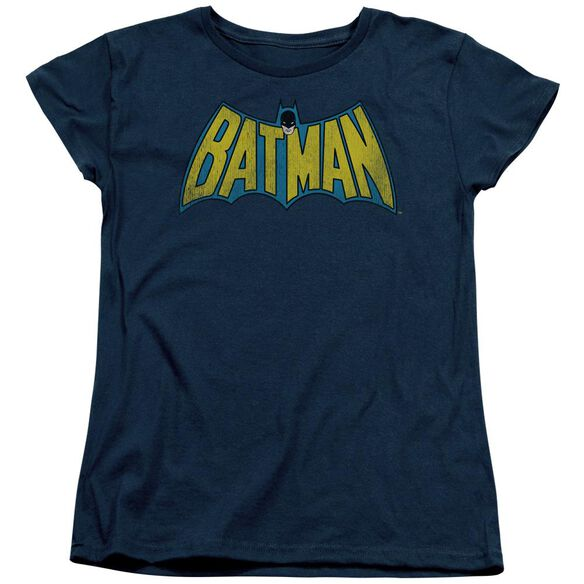 Dc Classic Batman Logo Short Sleeve Womens Tee T-Shirt
