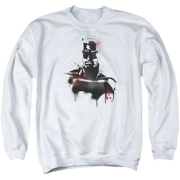 Batman V Superman Batman Spray Adult Crewneck Sweatshirt