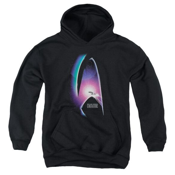 Star Trek Generations(Movie) Youth Pull Over Hoodie
