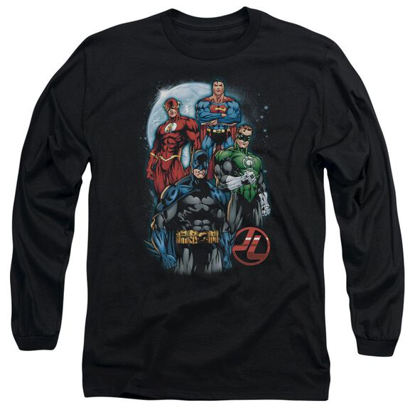 Jla The Four Long Sleeve Adult T-Shirt