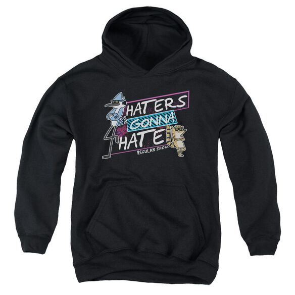 Regular Show Haters Gonna Hate Youth Pull Over Hoodie