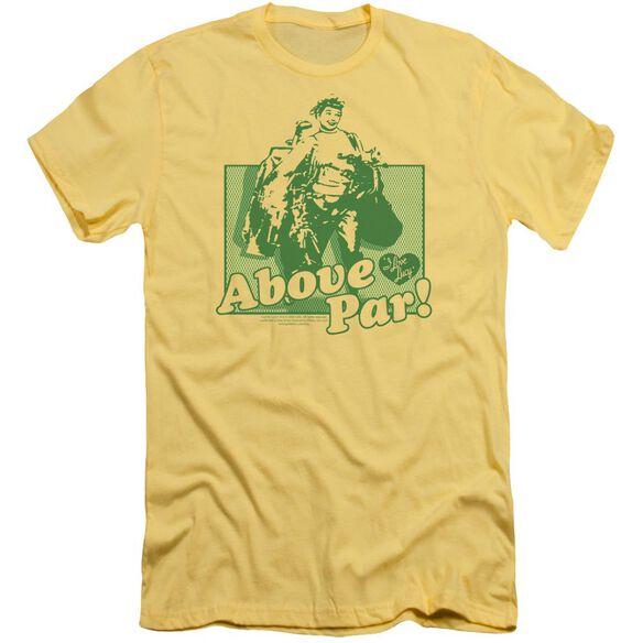 I Love Lucy Above Par Short Sleeve Adult T-Shirt