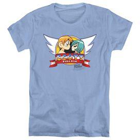 SCOTT PILGRIM SONIC SCOTT - S/S WOMENS TEE - CAROLINA BLUE T-Shirt