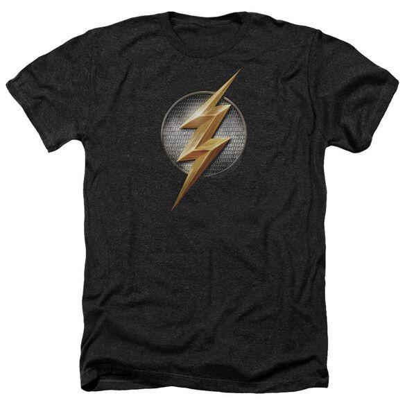 Justice League Movie Flash Logo Adult Heather