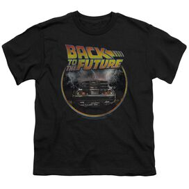 Back To The Future Back Short Sleeve Youth T-Shirt