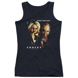 Bride Of Chucky Chucky Gets Lucky Juniors Tank Top