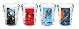 Godzilla King of the Monsters Shot Glass Set [4-Piece]