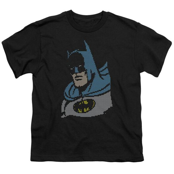 Dc Lite Brite Batman Short Sleeve Youth T-Shirt