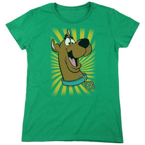 Scooby Doo™ T Shirt Short Sleeve Womens Tee Kelly T-Shirt