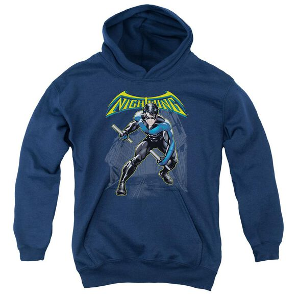 Batman Nightwing Youth Pull Over Hoodie