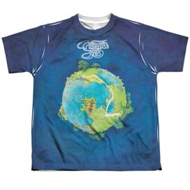 Yes Fragile Short Sleeve Youth Poly Crew T-Shirt
