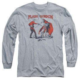 Flash Gordon Duel Long Sleeve Adult Athletic T-Shirt