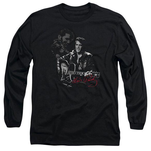 Elvis Presley Show Stopper Long Sleeve Adult T-Shirt