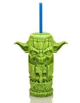 Star Wars - Yoda Geeki Tikis Tumbler