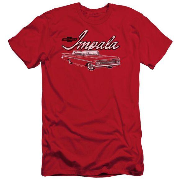 Chevrolet Classic Impala Short Sleeve Adult T-Shirt