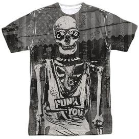 Cbgb Punk You Short Sleeve Adult Poly Crew T-Shirt