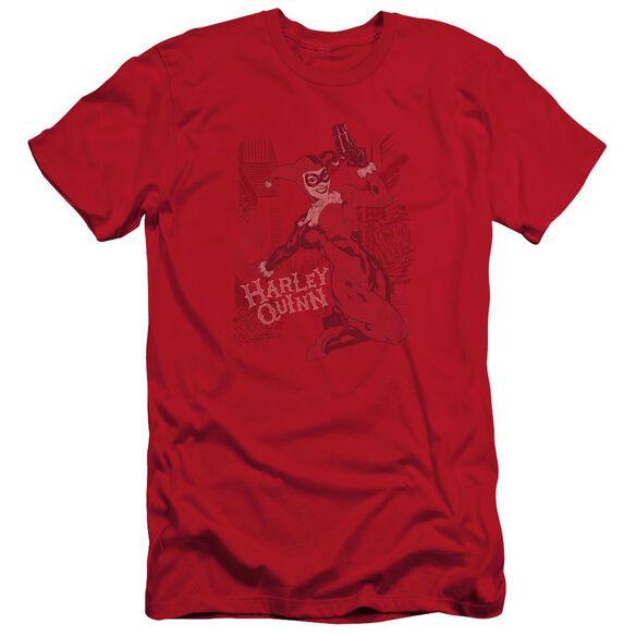 BATMAN HARLEYS PACKING - S/S ADULT 30/1 - RED T-Shirt