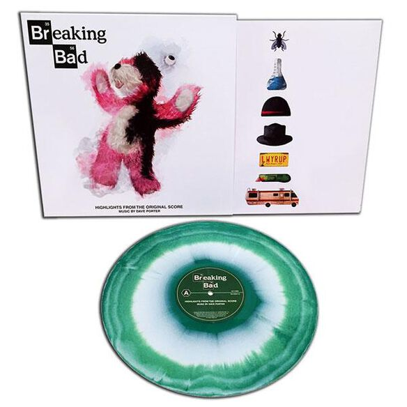 Dave Porter - Breaking Bad Highlights from the Original Television Score [Exclusive Green & White Vinyl]