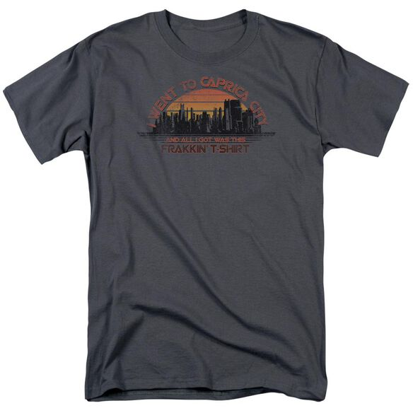 BSG CAPRICA CITY - S/S ADULT 18/1 - CHARCOAL T-Shirt