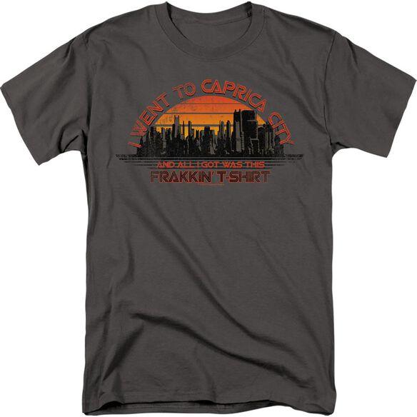 BSG CAPRICA CITY-S/S ADULT 18/1 - CHARCOAL T-Shirt