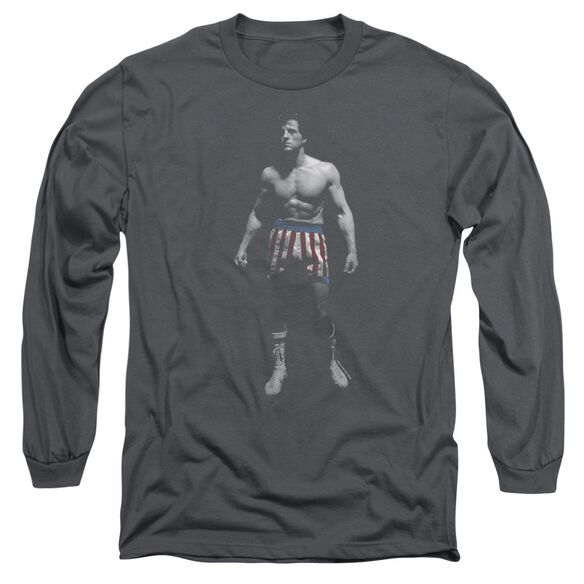 Rocky Stand Alone Long Sleeve Adult T-Shirt