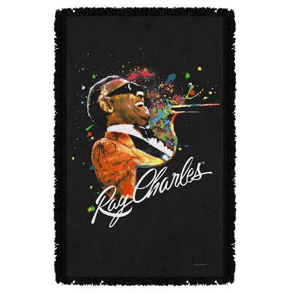 Ray Charles Soul Woven Throw