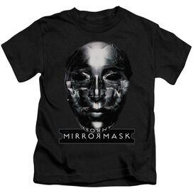 Mirrormask Mask Short Sleeve Juvenile Black Md T-Shirt