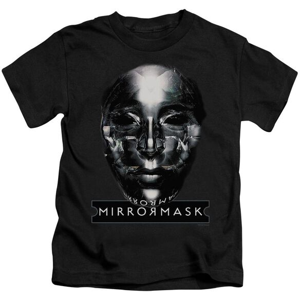 Mirrormask Mask Short Sleeve Juvenile Black Md T-Shirt
