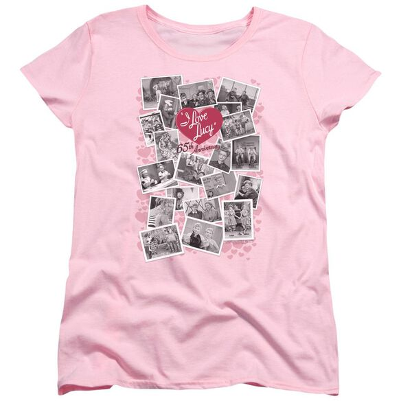 I Love Lucy 65 Th Anniversary Short Sleeve Womens Tee T-Shirt