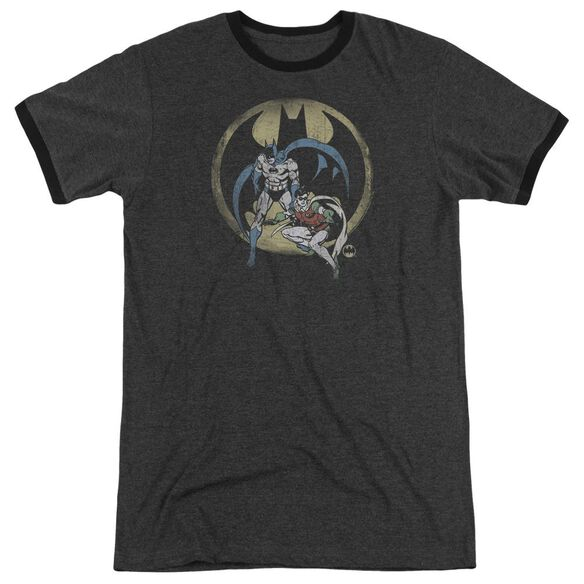 Dc Team Adult Heather Ringer Charcoal