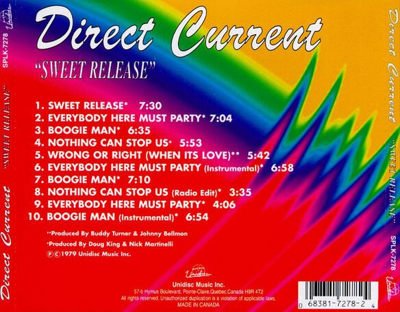 Sweet Release (Can)