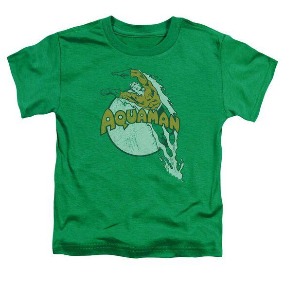Dc Splash Short Sleeve Toddler Tee Kelly Green Sm T-Shirt