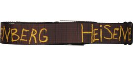 Breaking Bad Heisenberg Wall Graphitti Seatbelt Mesh Belt